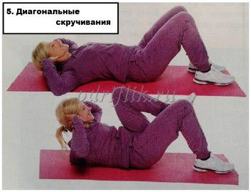 Жиросжигающий комплекс «5 упражнений за 7 минут»упр5