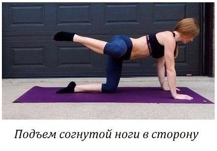 Упражнения для ягодиц и бедер с картинками 3