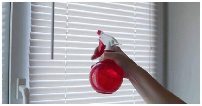 Как быстро помыть горизонтальные жалюзи 2