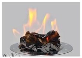 Способы снять стресс - сжечь