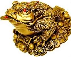 Талисман фэн-шуй - полезный подарок к празднику трехногая жаба