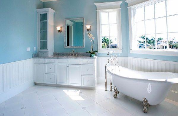 Как очистить ванную комнату