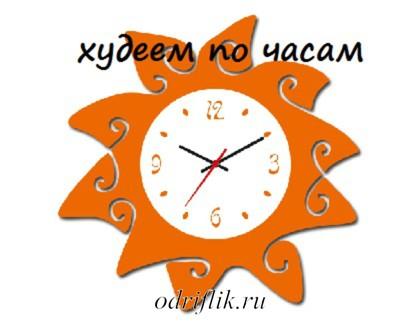 Диета «Худеем по часам»