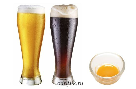 Маски на пиве для кожи 1